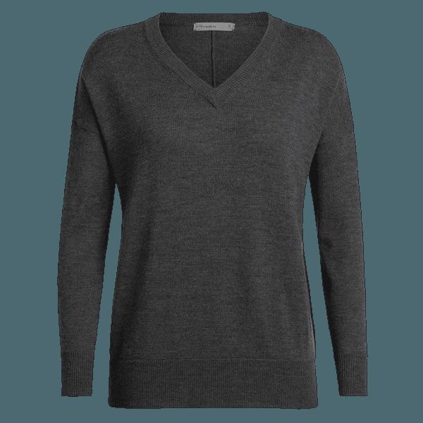 Shearer V Sweater Women CHAR HTHR
