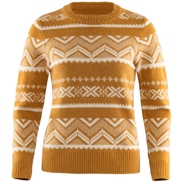 Greenland Re-Wool Pattern Knit Women Acorn