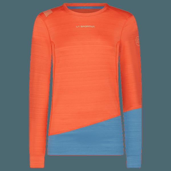 Dash Long Sleeve Women Paprika/Atlantic