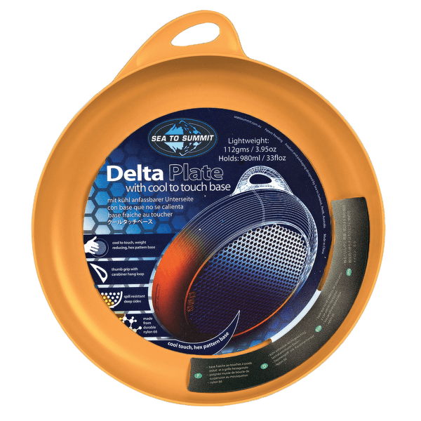 Delta Plate Orange (OR)