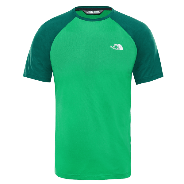 Tanken Raglan Tee Men PRIMARY GREEN/NIGHT GREEN