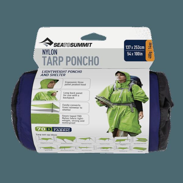 Tarp Poncho Blue