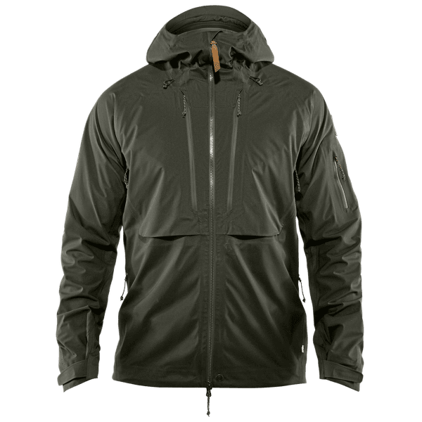 Keb Eco-Shell Jacket Men Deep Forest