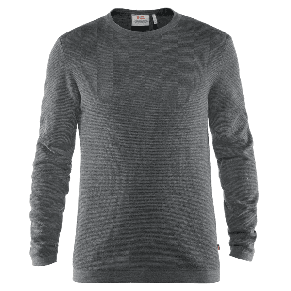 High Coast Merino Sweater Men Thunder Grey