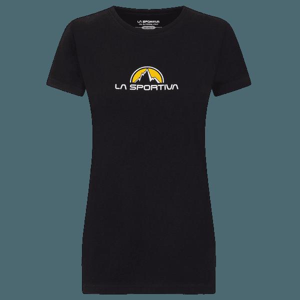 Footstep Tee Woman BLACK