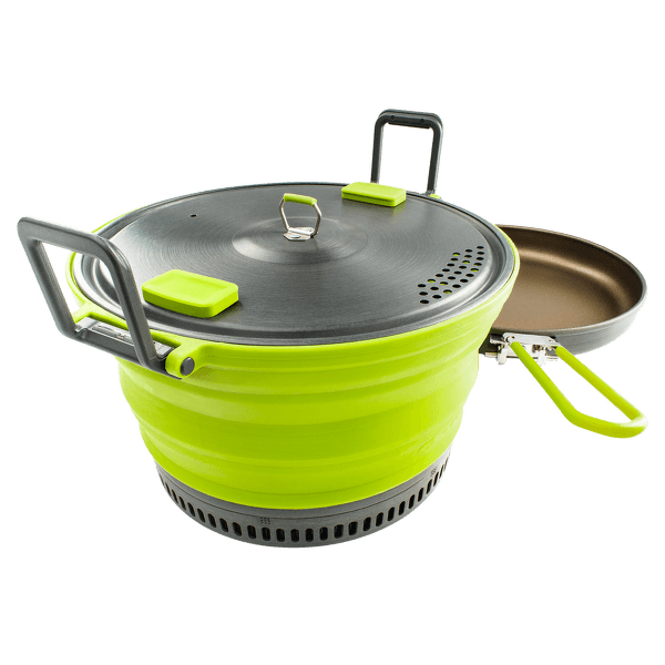 ESCAPE SET 3L WITH FRY PAN Green