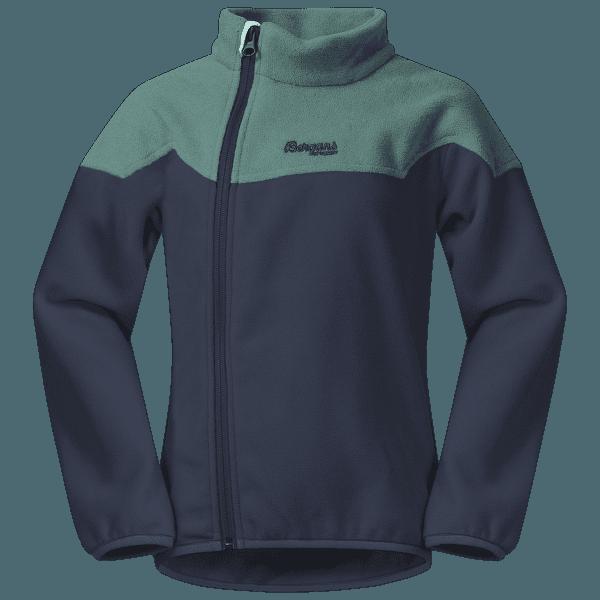 Ruffen Fleece Jacket Kids Navy/Greenlake