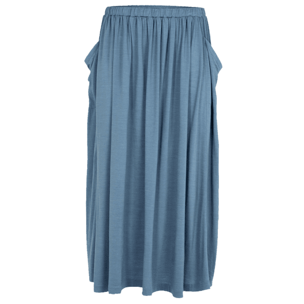 Cool-Lite Long Skirt Women GRANITE BLUE