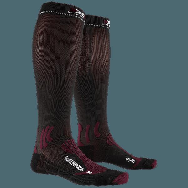 Run Energizer Socks Dark Ruby-Black