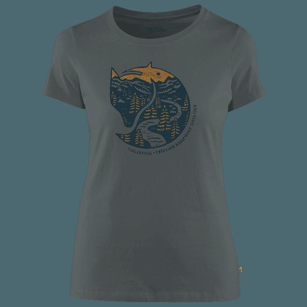 Arctic Fox Print T-Shirt Women Dusk