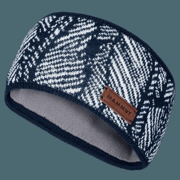 Snow Headband Marine-white