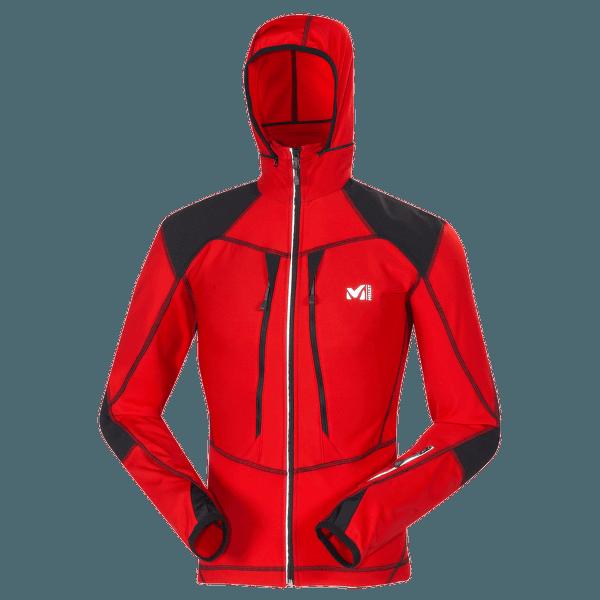 Pierra Ment Jacket Men ROUGE/NOIR