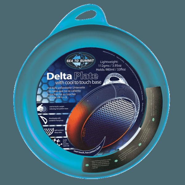 Delta Plate Pacific Blue