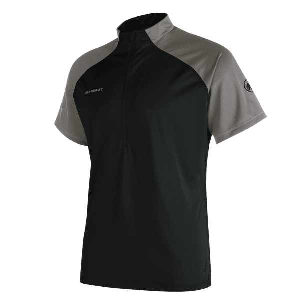 Atacazo Light Zip T-Shirt Men Black-titanium