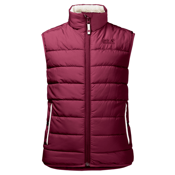 K Black Bear Insulated Vest garnet red 2405