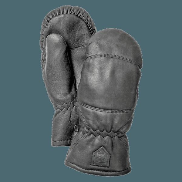 Leather Box Mitt Svart