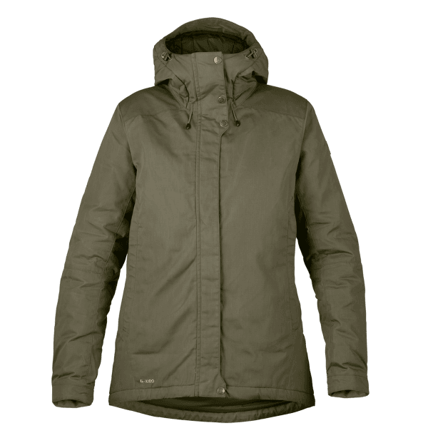 Skogsö Padded Jacket Women Laurel Green