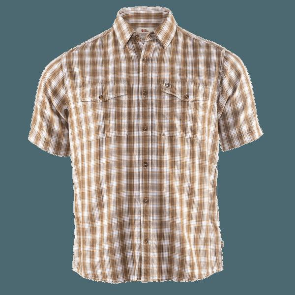 Abisko Cool Shirt SS Men Dark Sand