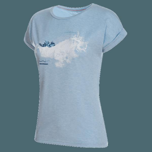 Mountain T-Shirt Women zen melange PRT2