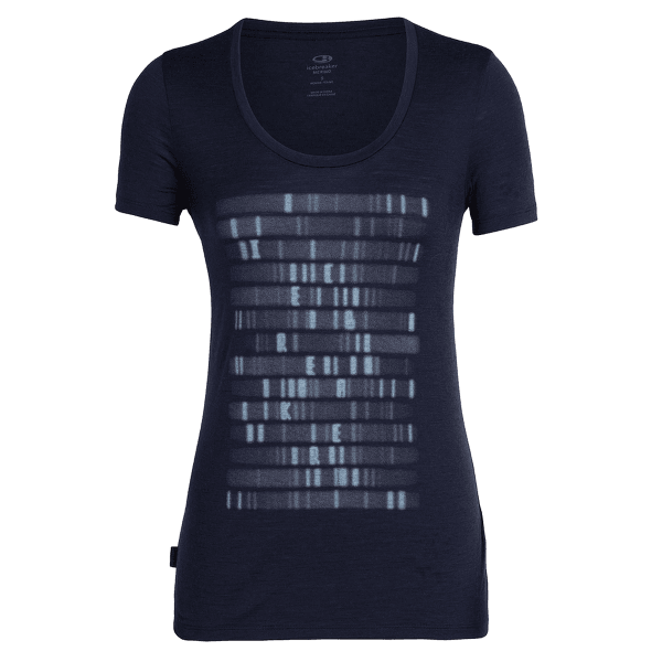 Tech Lite SS Scoop Sequence Women Midnight Navy IBANS_01360