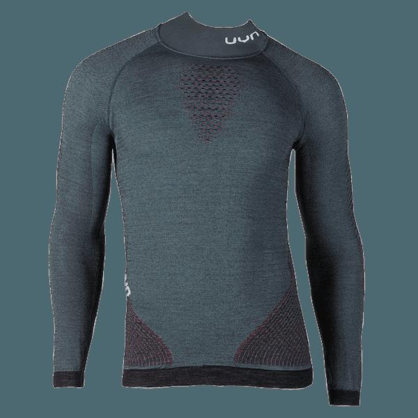 Fusyon UW Shirt LS Turtleneck Men Orion Blue/Bordeaux/Pearl Grey