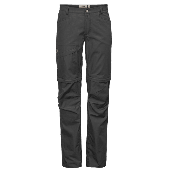 Daloa Shade Zip-Off Trousers Women Dark Grey