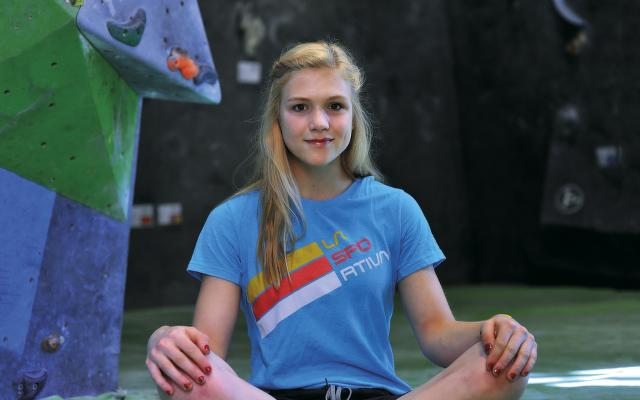 Eliška Adamovská, lezkyňa