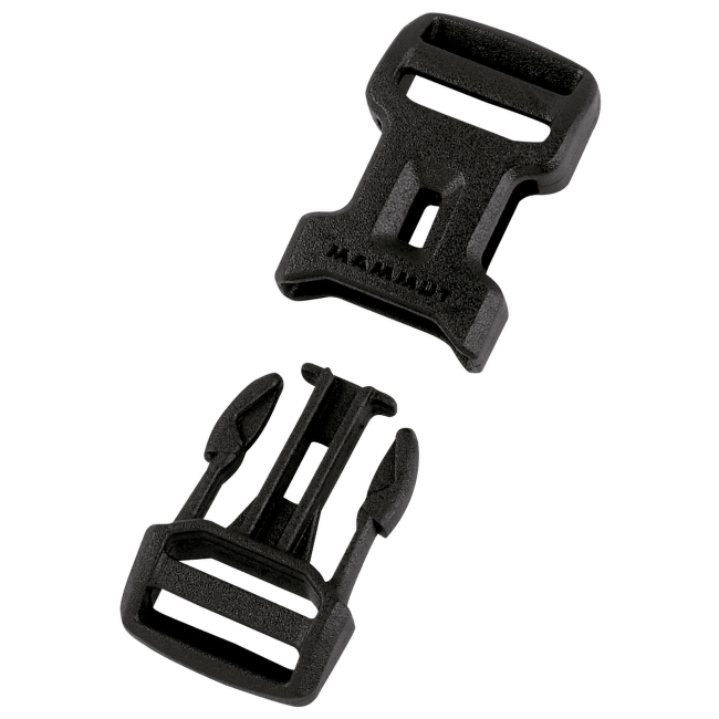 Dual Adjust Side Squeeze Buckle 25 black 0001