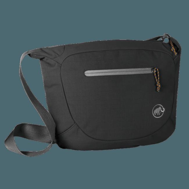 Shoulder Bag Round 8 black 0001