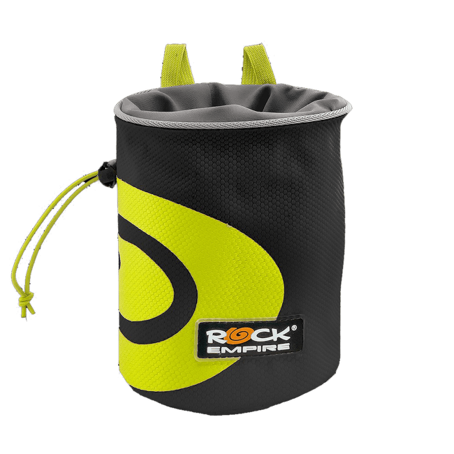 Chalk Bag Spiral Black