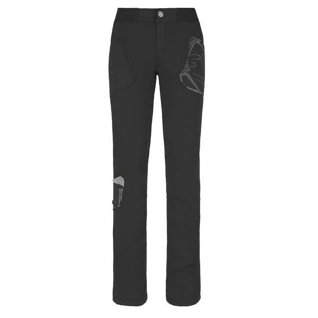 Elly Pants Women BLACK-999