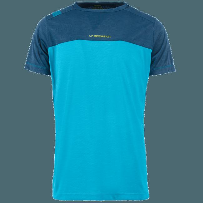 Crunch T-Shirt Men Tropic Blue/Opal