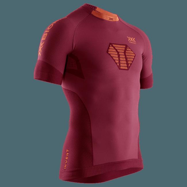 Regulator Run Speed Shirt SH SL Men Red-Kurkuma orange