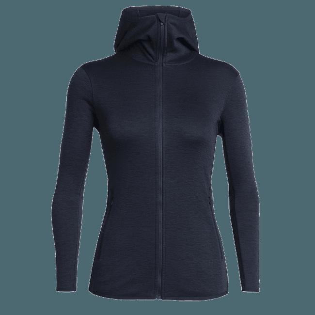 Elemental LS Zip Hood Women Midnight Navy