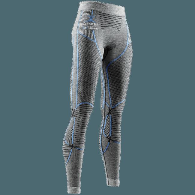 APANI® 4.0 Merino Pant Women Black/Grey/Turquoise