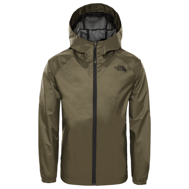 Zipline Rain Jacket Boys NEW TAUPE GREEN