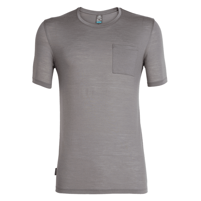 Elements SS Pocket Crewe Men TIMBERWOLF HTHR