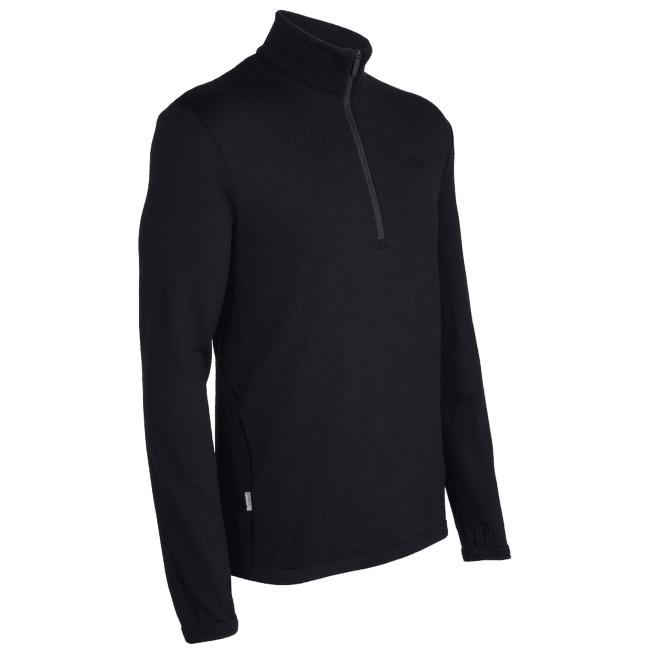 Original LS Half Zip Men Black