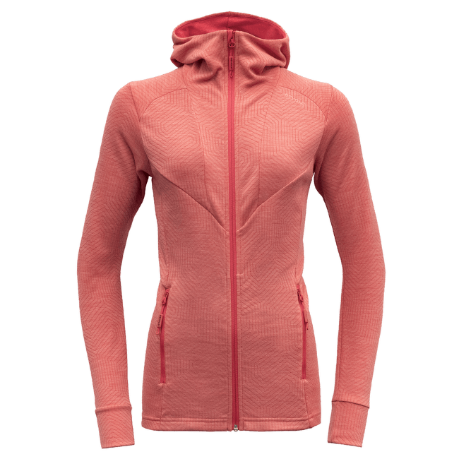 Aksla Jacket Hood Women Poppy