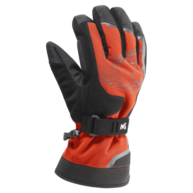 Amber Dryedge Glove NOIR/ROUGE