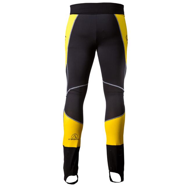 Syborg Pants Men GREY/YELLOW