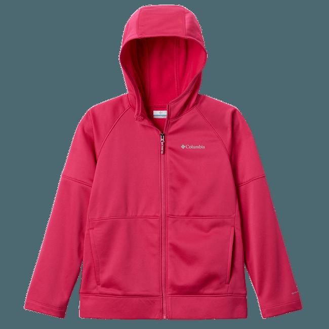 Everyday Easy™ Full Zip Fleece Kids Red 612