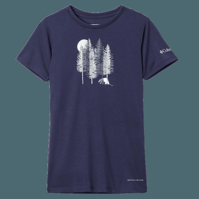 Ranco Lake™ Short Sleeve Tee Girls Blue 466