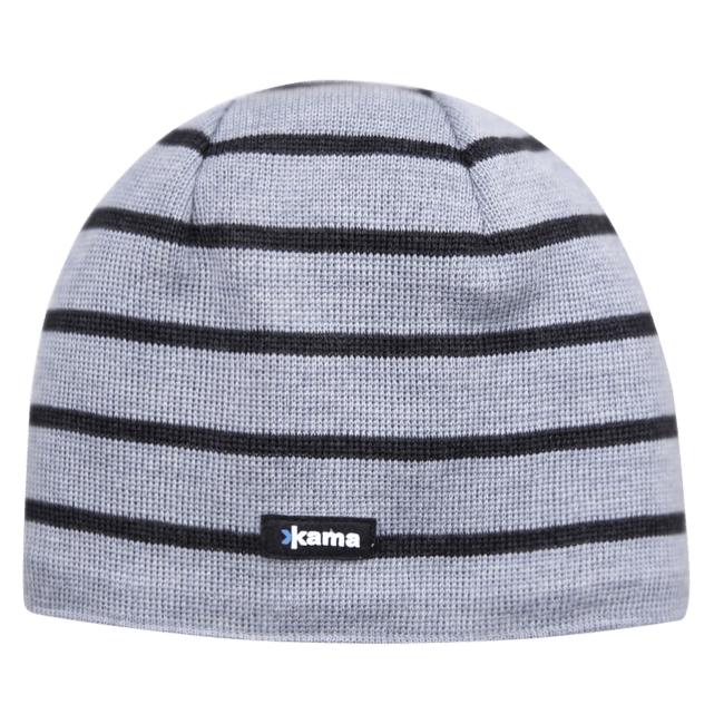 A77 Knitted Hat Grey