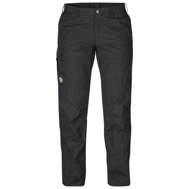 Karla Trousers Women Dark Grey