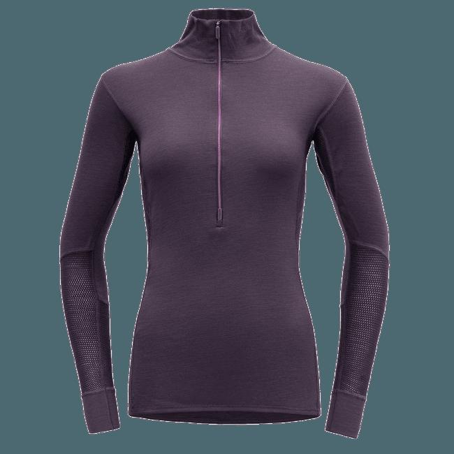 Wool Mesh Half Zip Neck Women (151-243) 299A Figs