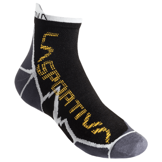 Long Distance Socks Black/Yellow