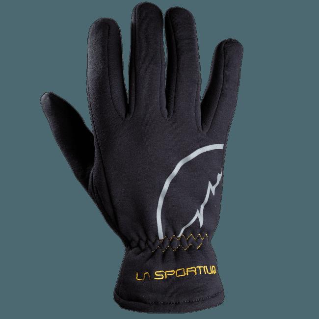Stretch Gloves Black/Yellow