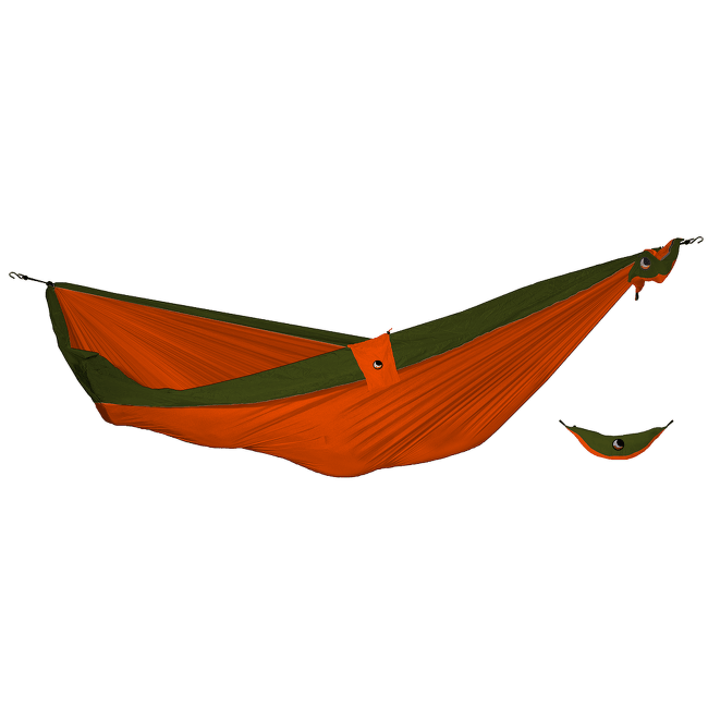 Double Moon Hammock(+Express Bag) orange/army green