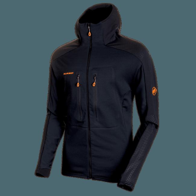 Eiswand Advanced ML Hooded Jacket Men black 0001